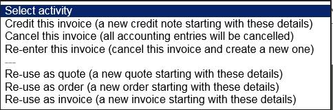Produce Sales Invoice