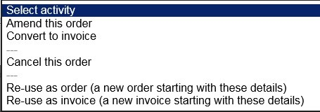 Produce Purchase Order