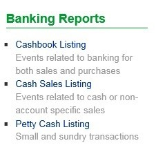 Banking Reports