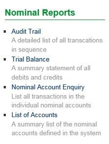 Nominal Reports