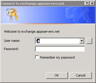 Microsoft Outlook Authentication