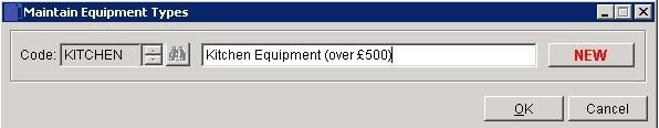 Costing - Lists Maintenance