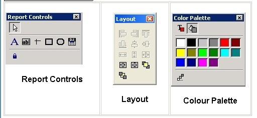 File Menu - Stationery Design - Toolbars