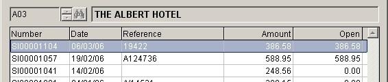Sales Ledger - Edit A Produced Invoice