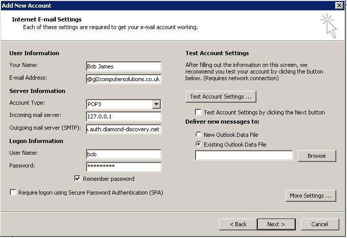 How Do I Set Up Additional Email Accounts?