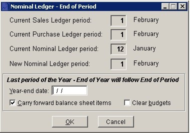 End Of Period Process