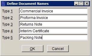 File Menu - Stationery Design Overview