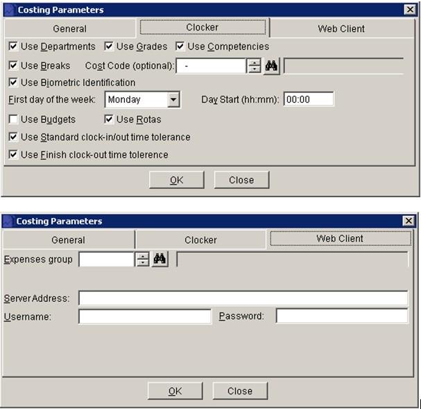 DClocker - Process Provisional Entries